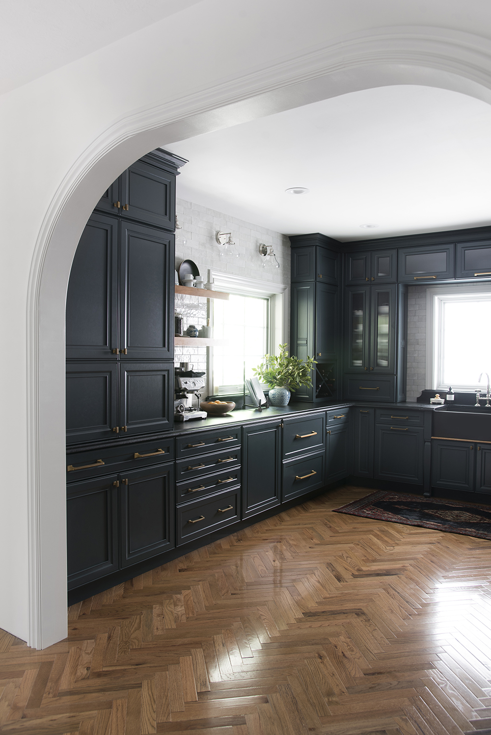 Look for Less : Our Moody Kitchen - roomfortuesday.com