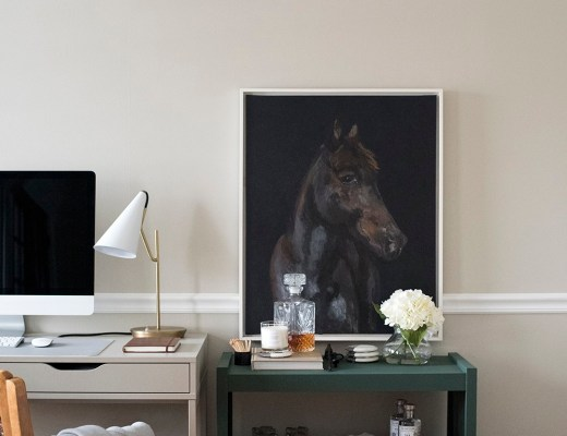 Best of Etsy : Equestrian Art - roomfortuesday.com