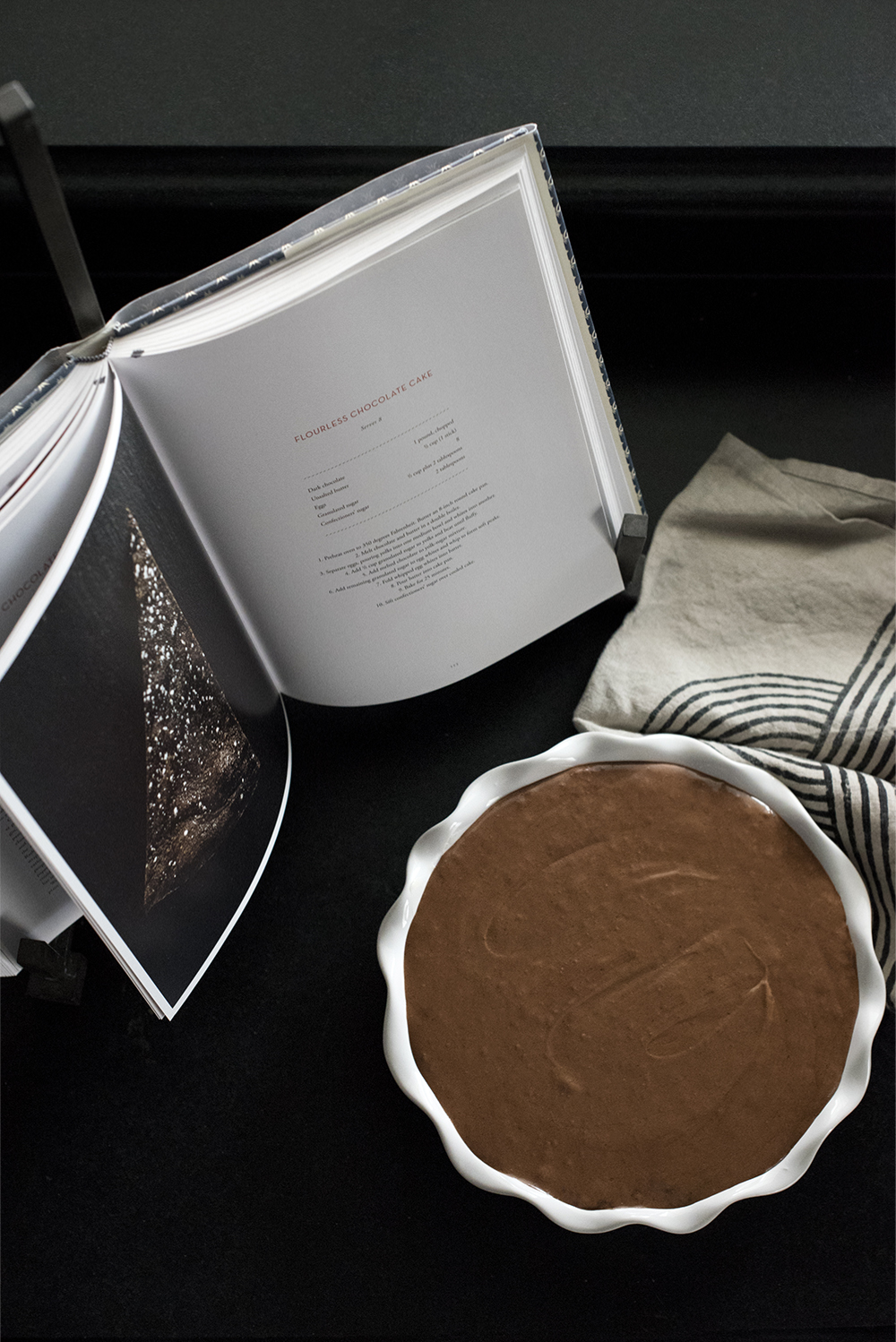 Flourless Chocolate Cake - roomfortuesday.com