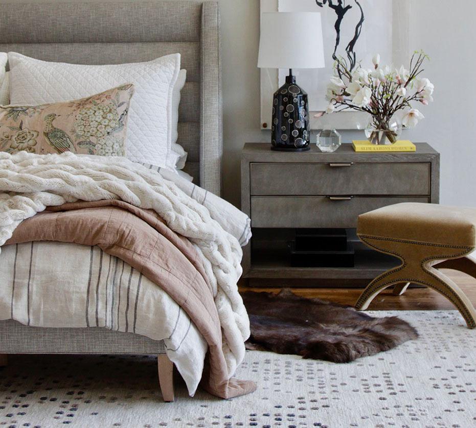 February Moodboard : Dusty Blush - roomfortuesday.com