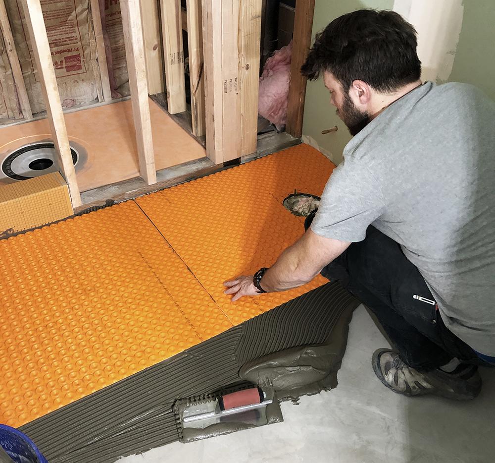 DIY Heated Floor Tile - roomfortuesday.com