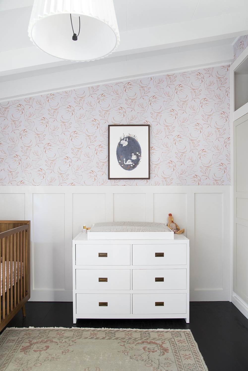 How to Install Peel-and-Stick Wallpaper - roomfortuesday.com