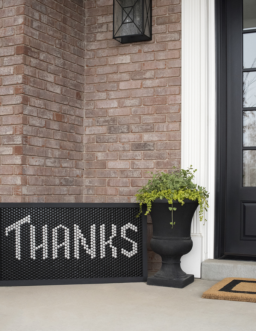 Diy Tile Text A Big Thank You Room For Tuesday