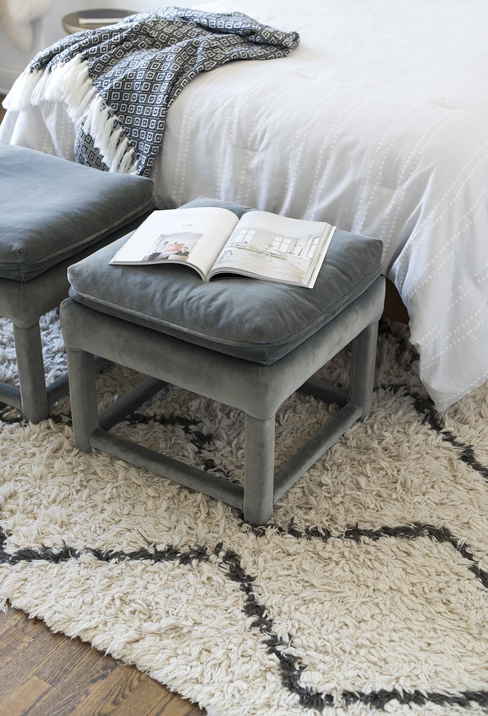 Roundup : Ottomans & Benches for the End of Your Bed - roomfortuesday.com