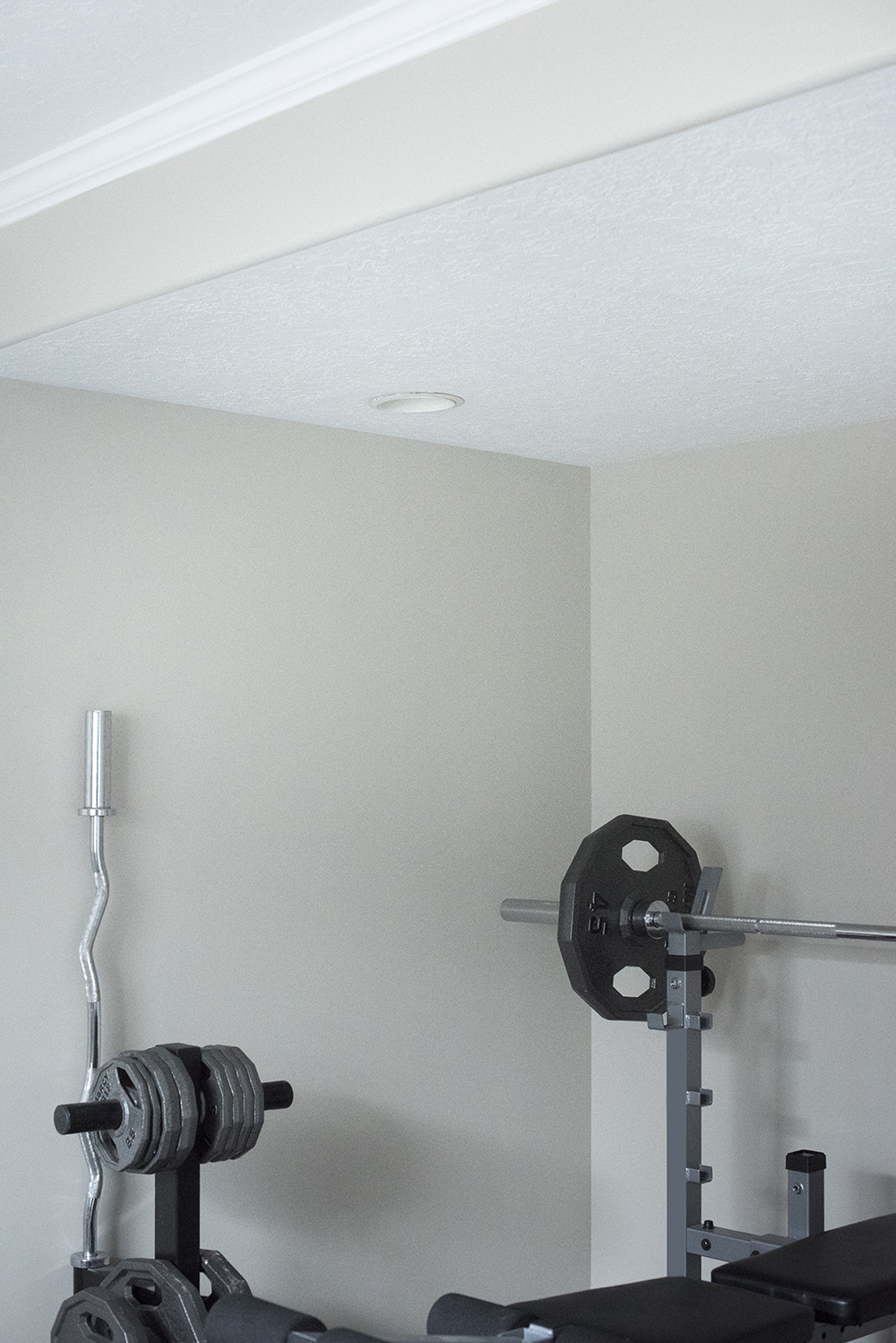 Staying Active At Home + Our Home Gym Plans - roomfortuesday.com