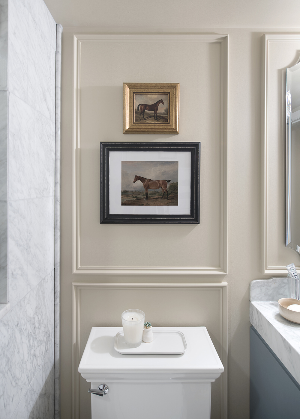 Basement Bathroom Reveal - roomfortuesday.com