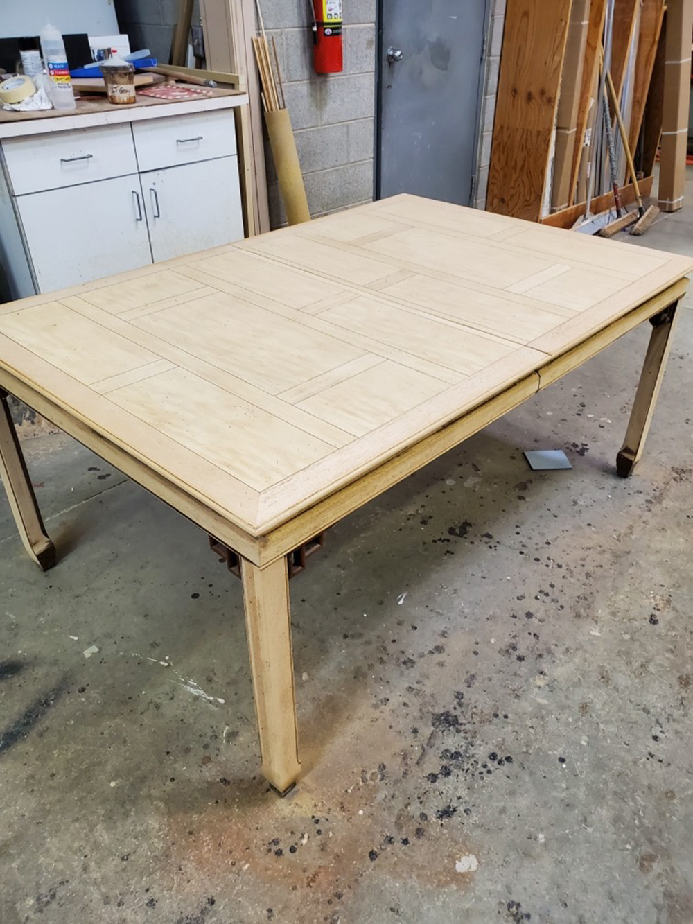 Our Vintage Dining Set Transformation + Tips for Restoration - roomfortuesday.com