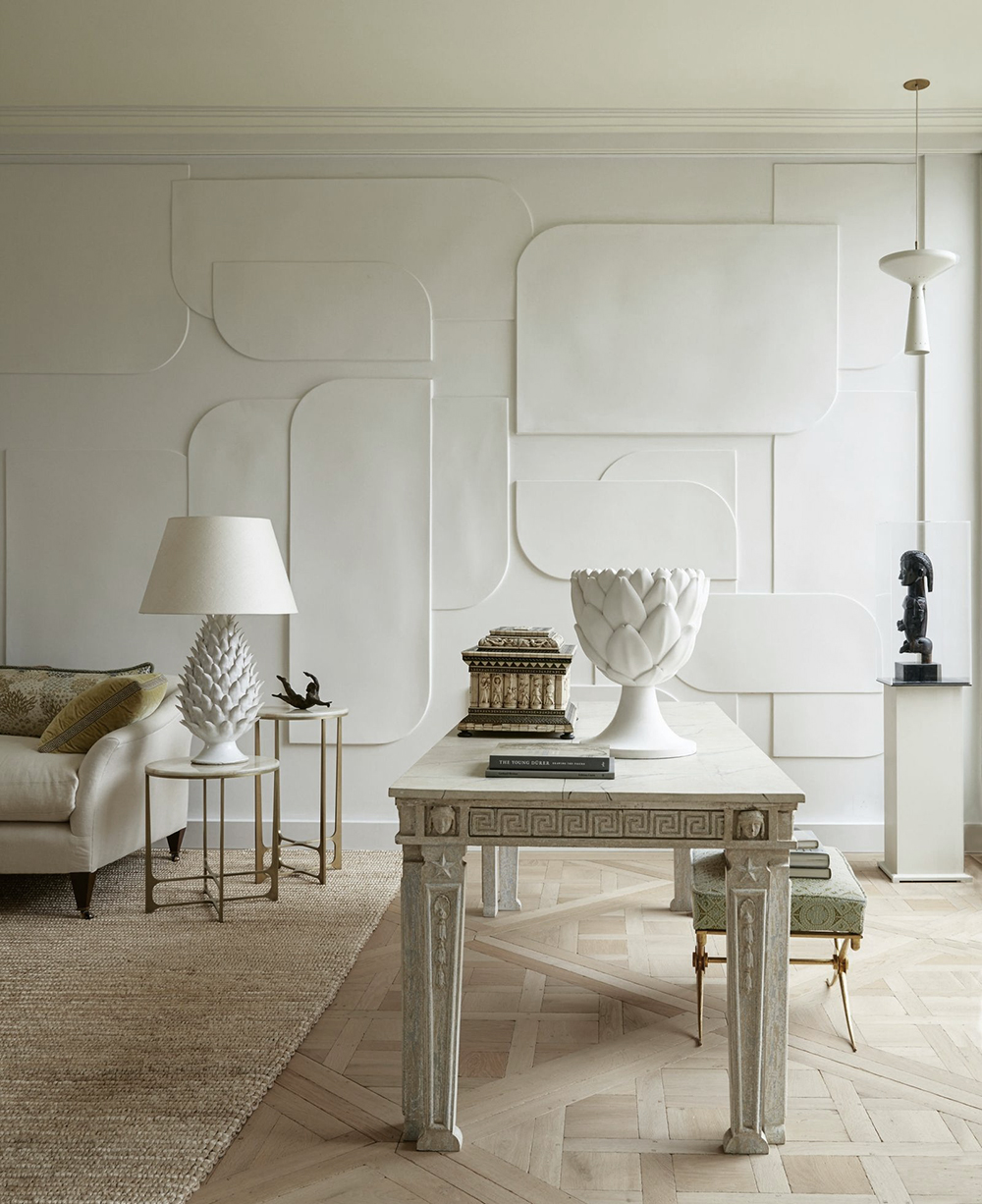 July Moodboard : Plaster White - roomfortuesday.com