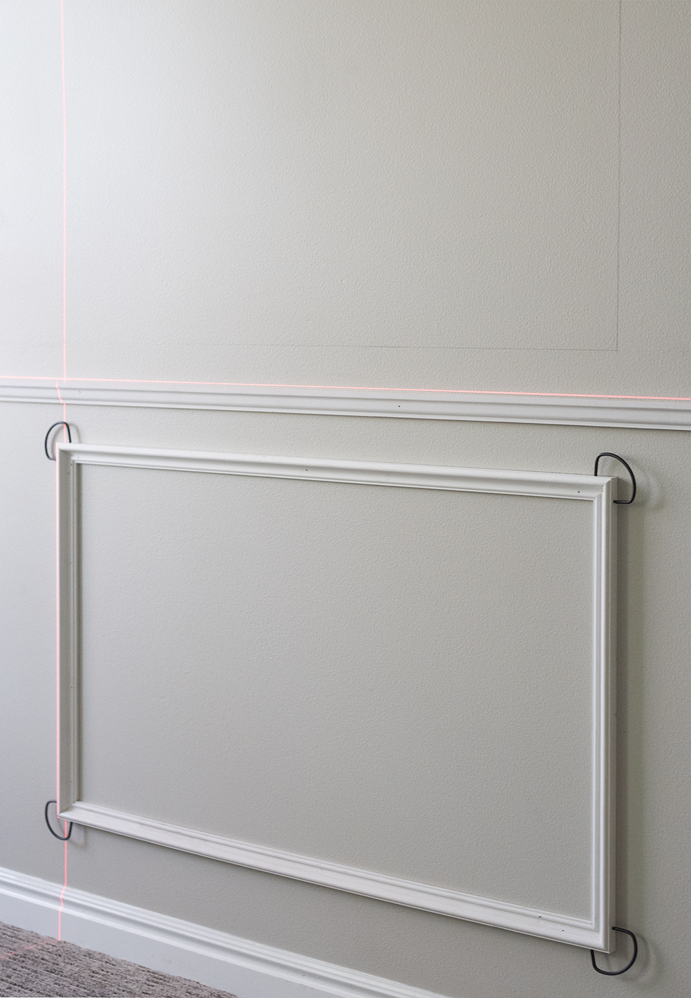 How to Install Panel Moulding - roomfortuesday.com