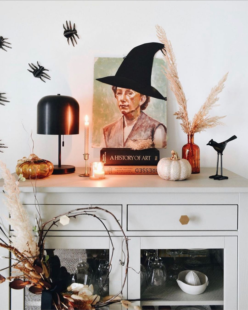 My Favorite Halloween Decor from Fellow Designers & Bloggers - roomfortuesday.com