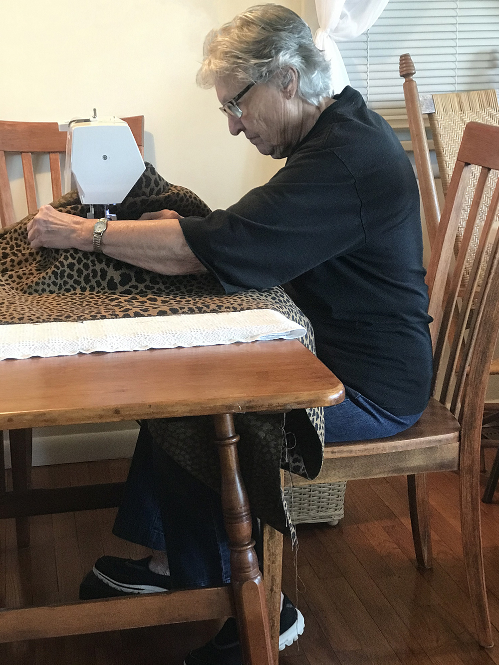 Working with My Grandmother (Our Pillow Collection) - roomfortuesday.com
