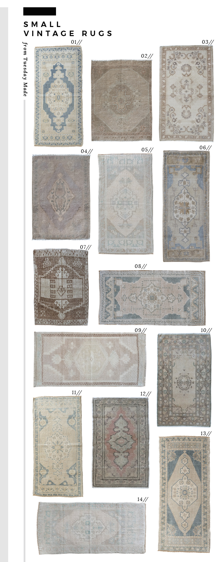 My Latest Vintage Rug Haul - roomfortuesday.com