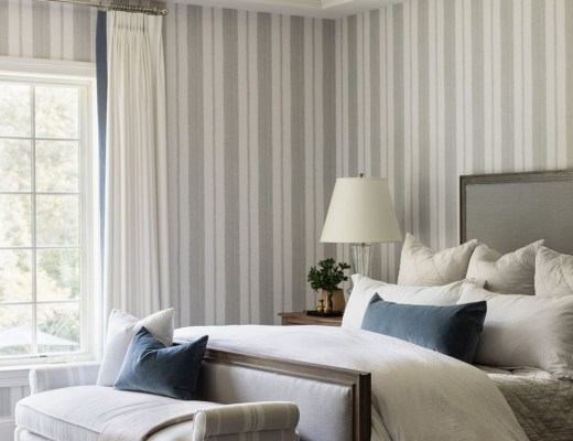 Roundup : Floral, Striped, & Toile Wallpaper - roomfortuesday.com
