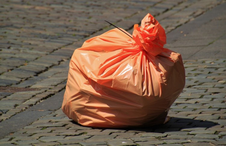 earth day garbage bags
