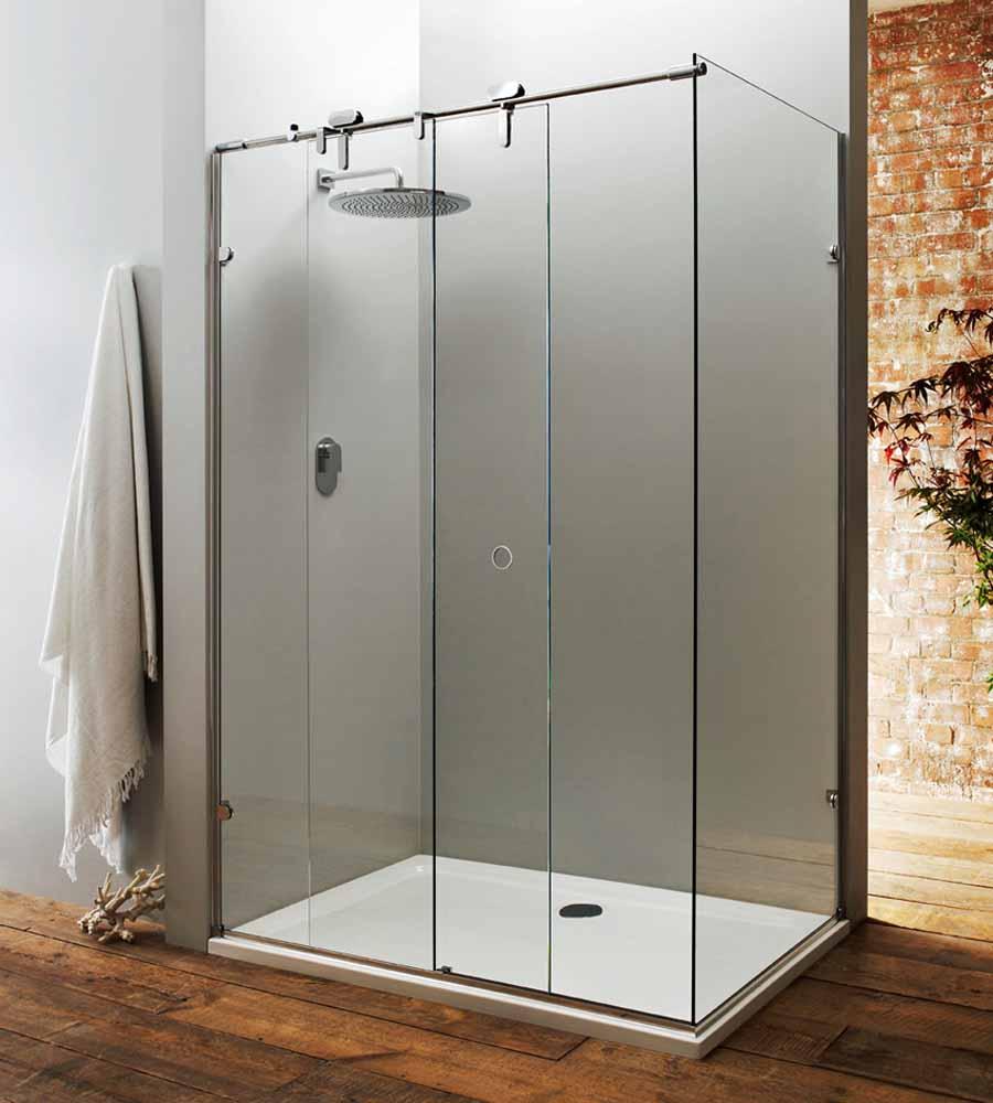 Image Result For Frameless Sliding Door Shower Enclosure X