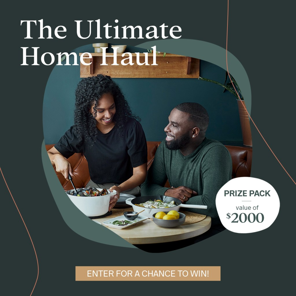 ultimate home haul gift of 2000 dollars in value
