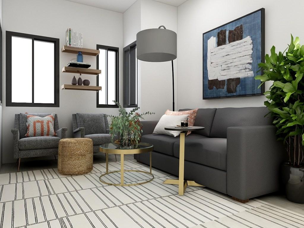 Interior design for apartments