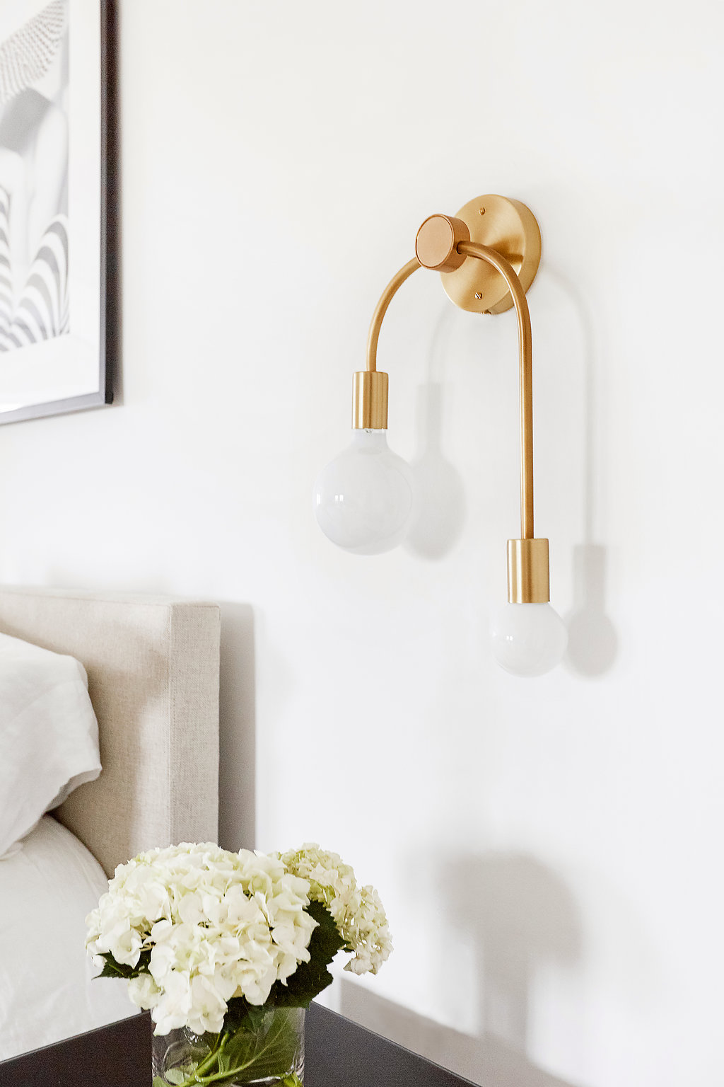 Brass Double Sconce