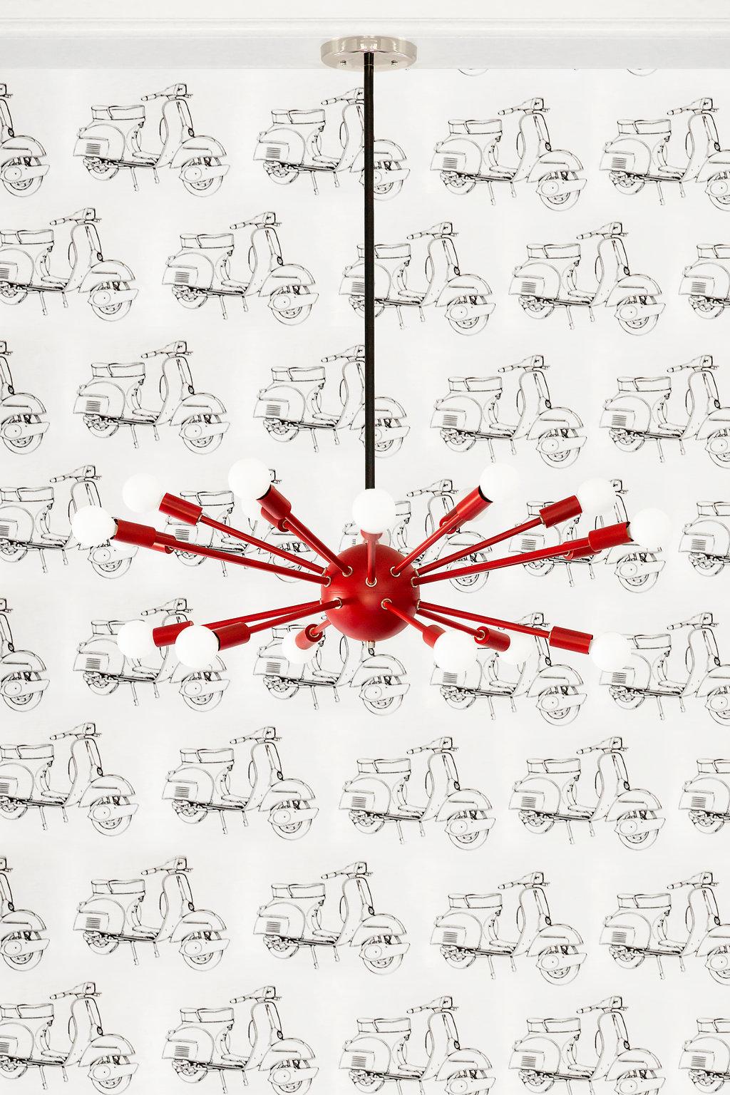 Sputnik Chandelier/Flushmount