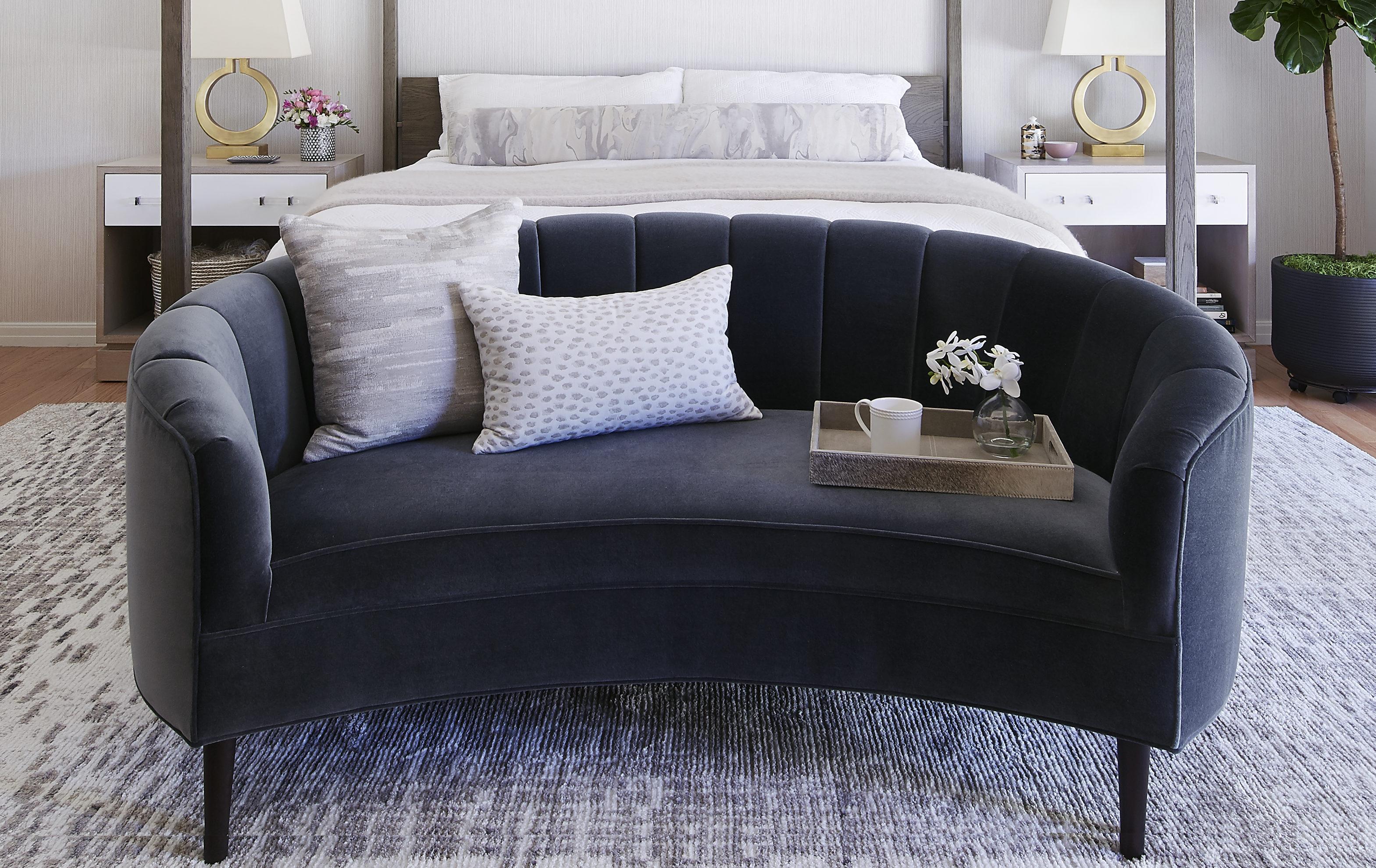 Petite Art Deco Sofa