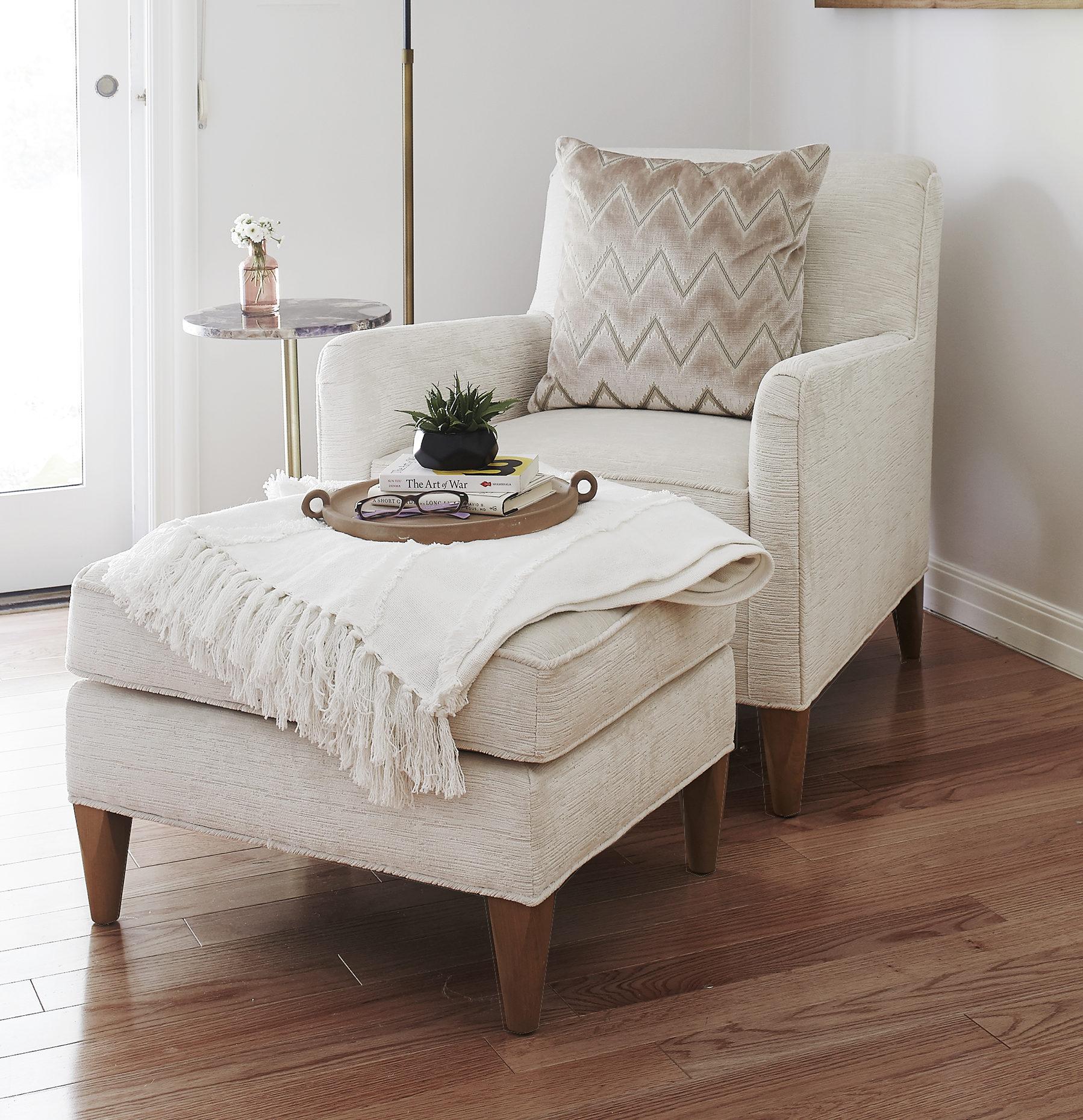 Sloane Chair and Ottoman
