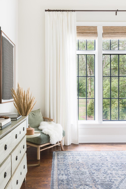 The Lane Bedroom Custom Window Treatments