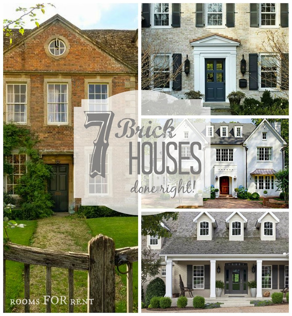 7 Brick Houses Done Right