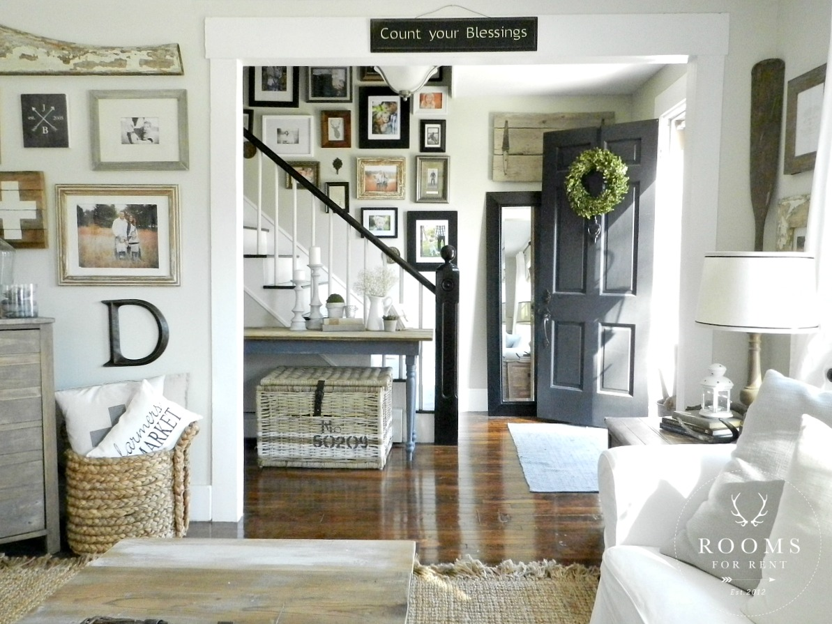 Rooms: Farmhouse Style Gallery Wall