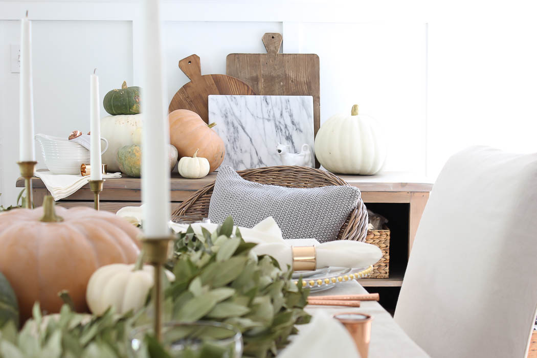 Fall Farmhouse Tablescape | Rooms FOR Rent Blog