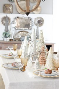 Christmas Tablescape with HomeGoods & a GIVEAWAY!