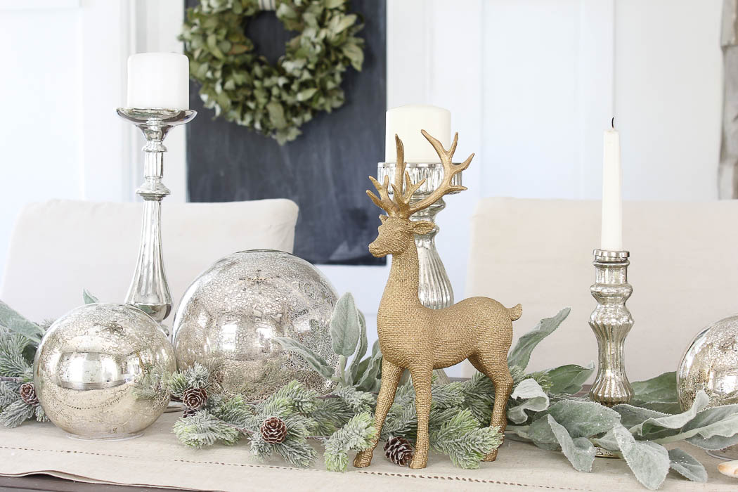 Christmas tour with kirklands rooms for rent blog - Interesting tables capes for christmas providing cozy gathering space ...