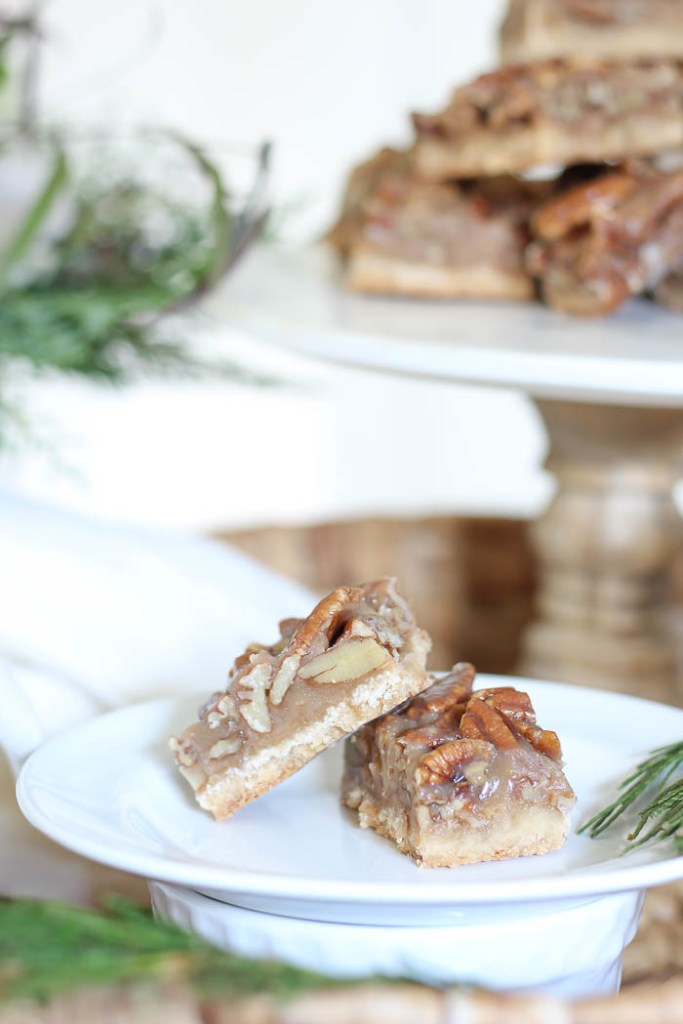Pecan Pie Bars | Holiday Recipe | Rooms FOR Rent Blog