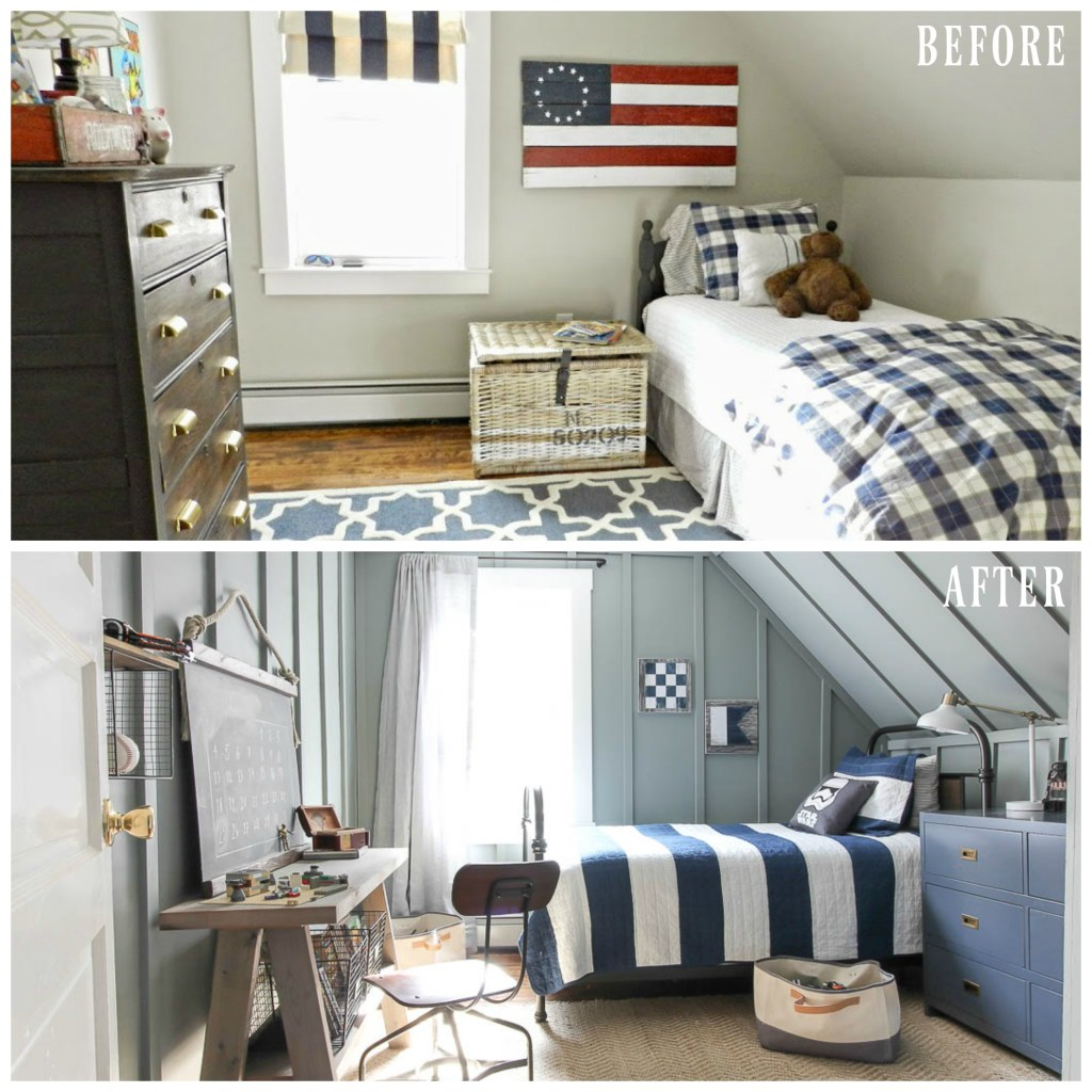Before & After Boy Room Makeover | Rooms FOR Rent Blog