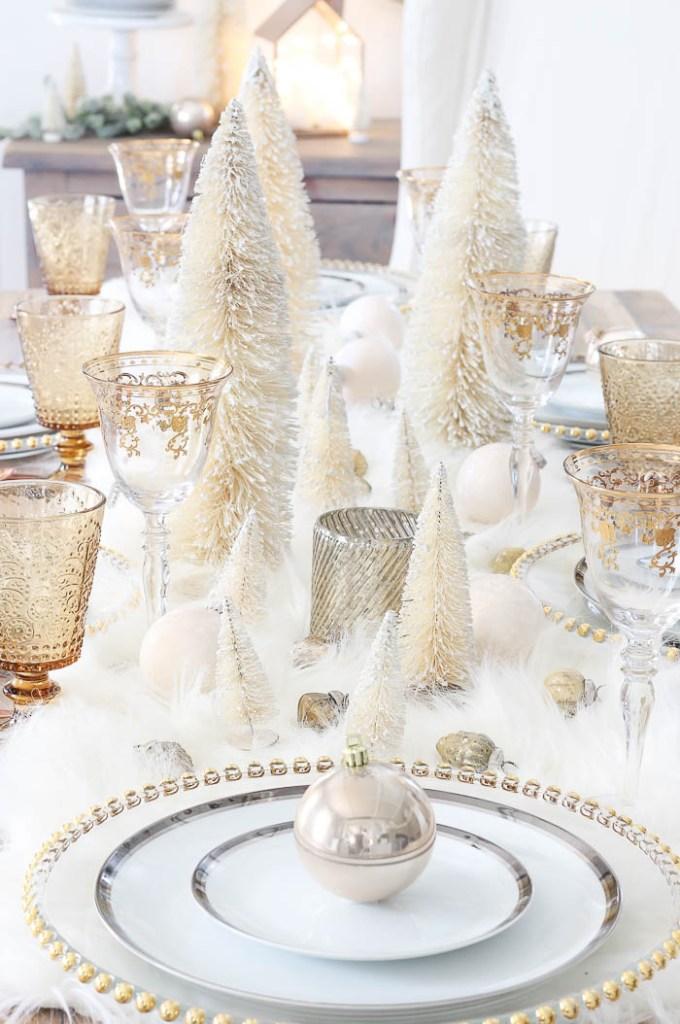 Winter Wonderland Tablescape | Rooms FOR Rent Blog