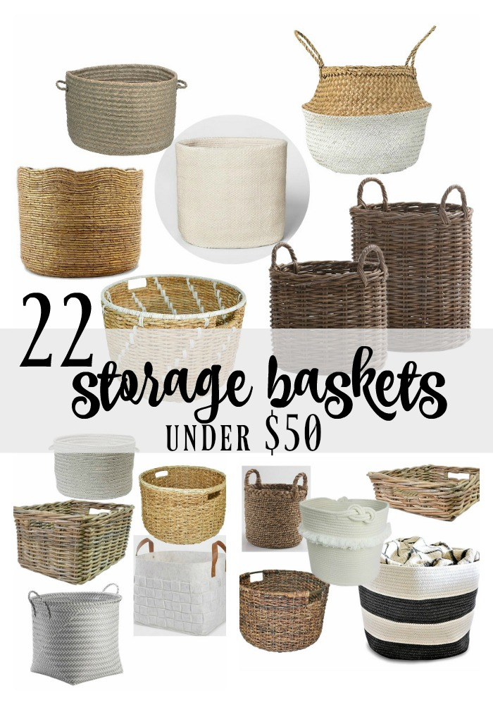 22 Storage Baskets Under $50 | Rooms FOR Rent Blog
