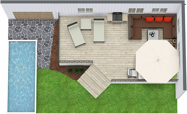 Design, Create And Visualize Outdoor Areas With