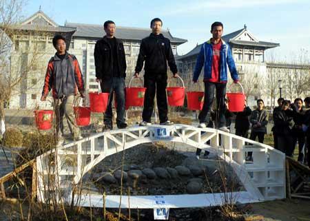Students Create Amazing 'PAPER' Bridge
