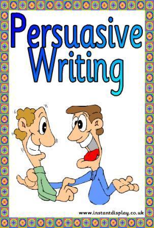 Persuasive Writing (1/3)