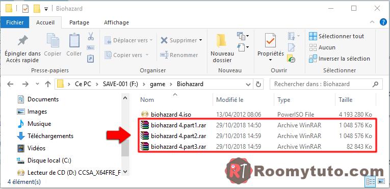 WinRar_Comment découper un gros fichier en plusieurs morceaux_5