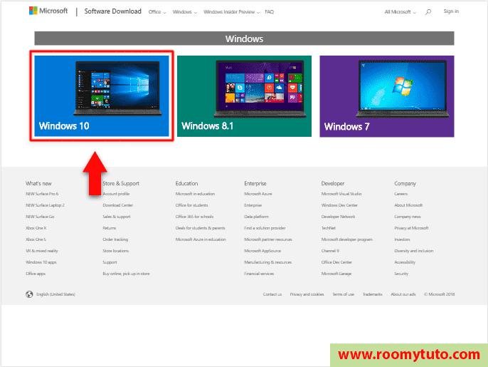 télécharger Windows 10 en iso 2