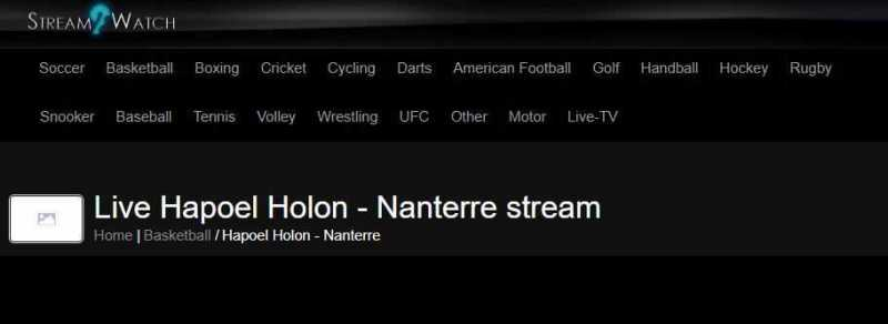 site de Streaming - StreamWatch