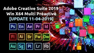 Adobe Creative Cloud Suite 2019