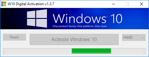 activer Windows 10 avec W10 Digital Activation Program v1.3.7