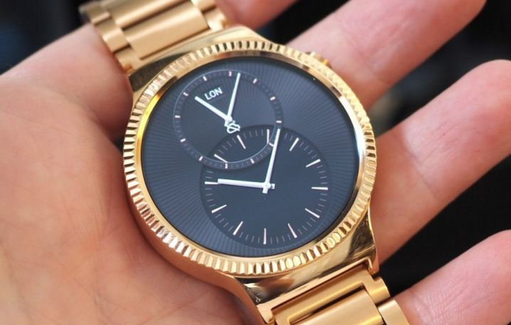Huawei, officially released Rose Gold Huawei Watch a gold-plated smartwatch