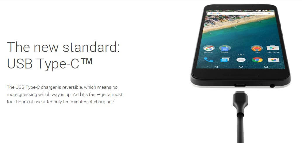 Nexus 5X quick charge