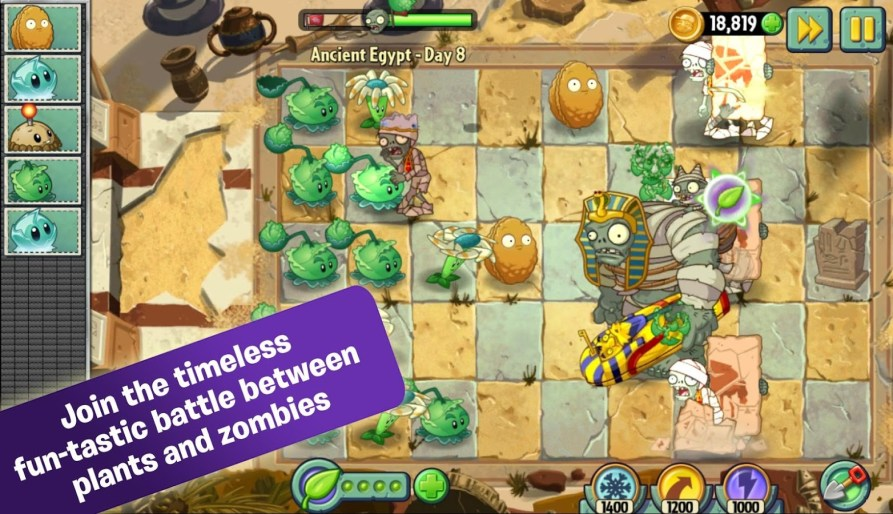 best-offline-android-games-plant-vs-zombie-2