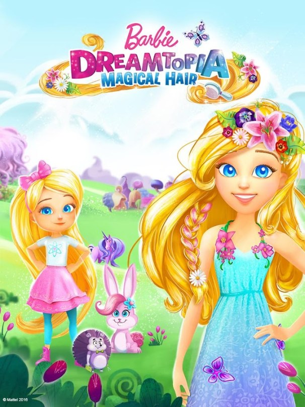 barbie-games-for-android-barbie-magical-hair