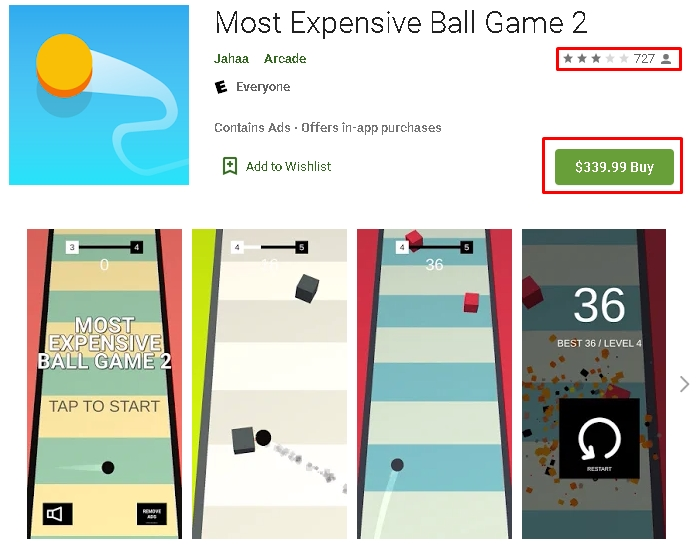 Most Useless and Expensive Apps on Android