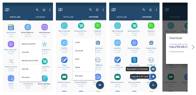 best android back up app