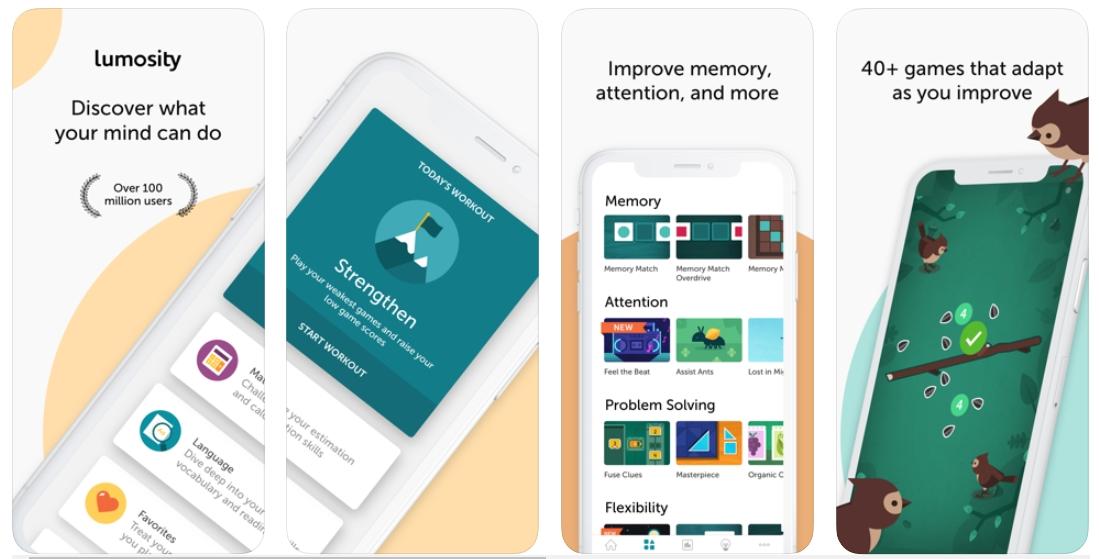 iPhone Brain apps